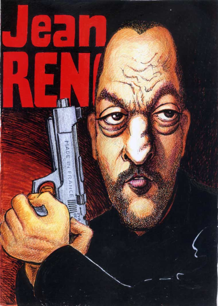 Caricatures page 8 for Jean reno jean dujardin